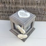 Shabby Chic PERSONALISED Rustic Wood Auntie Aunty Aunt Gift ANY NAME Photo Cube - 332870201924